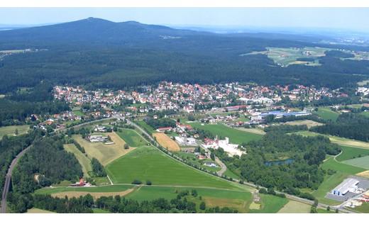 Blick auf den Hauptort Neusorg